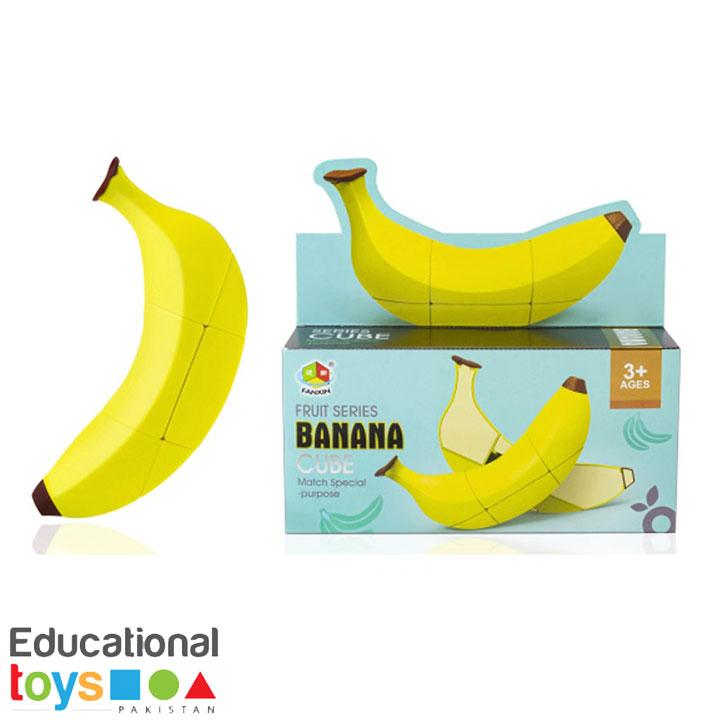Banana Cube Puzzle