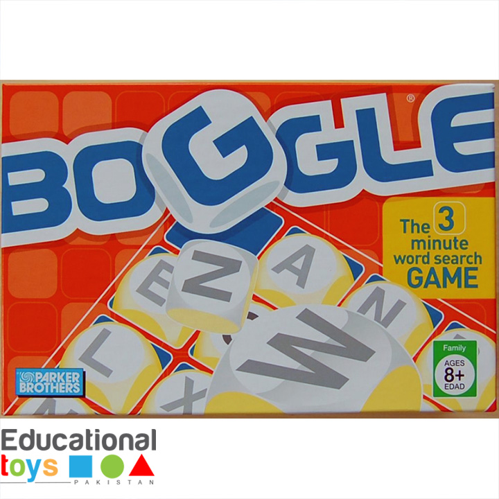 Boggle – The 3-Minute Word Game
