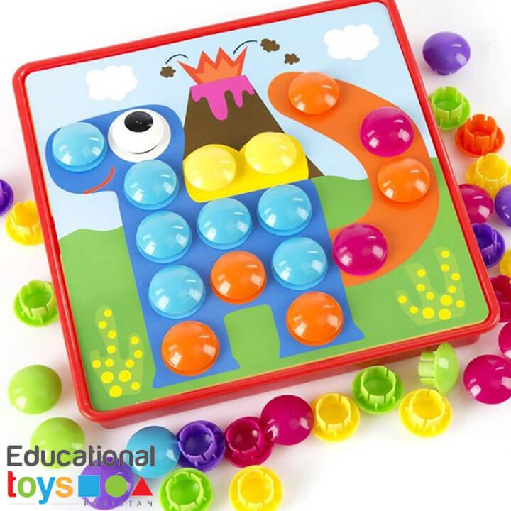 Button Idea – 3D Color Matching Puzzle Game