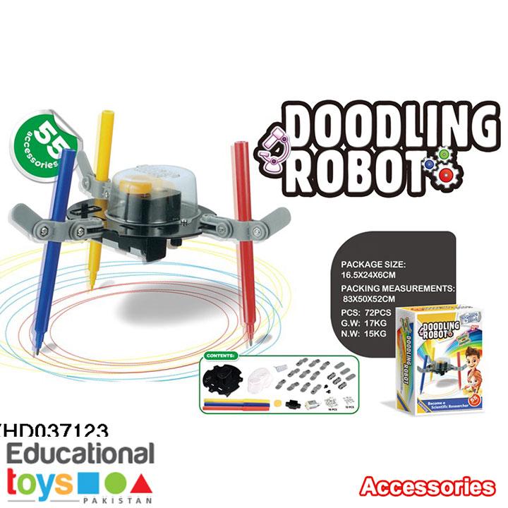 DIY Science Kit – Doodling Robot