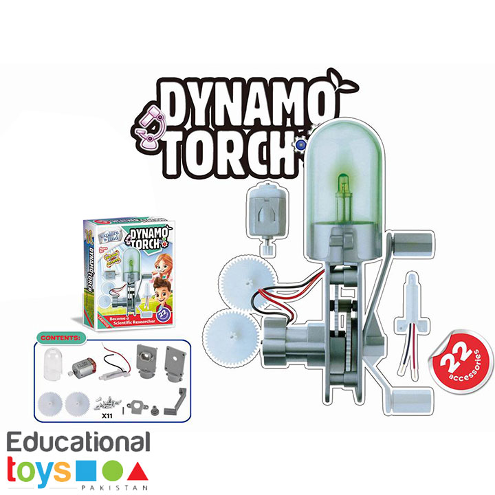 DIY Science Kit – Dynamo Torch