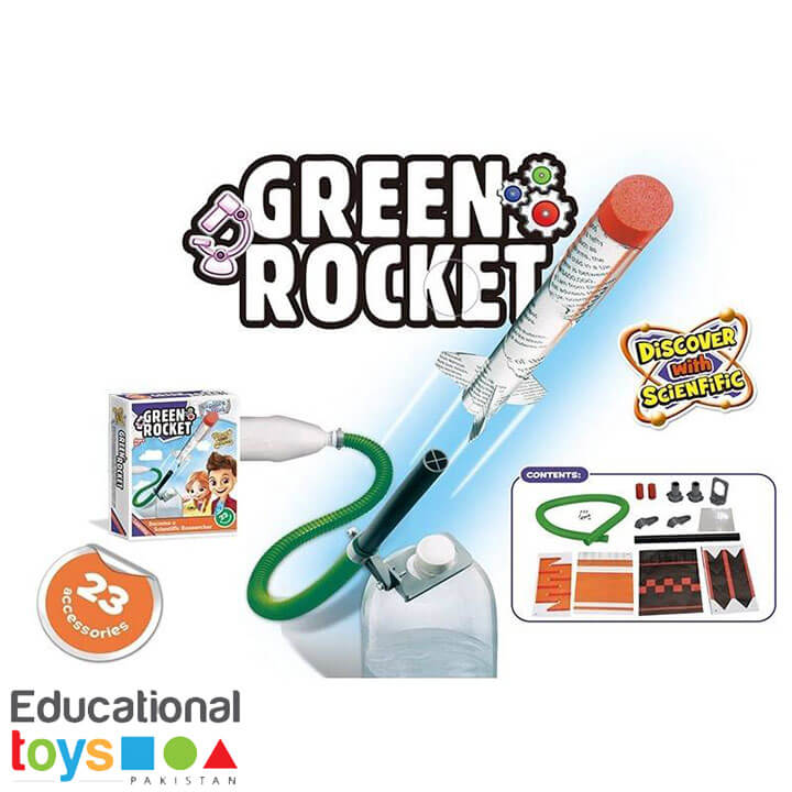 DIY Science Kit – Green Rocket