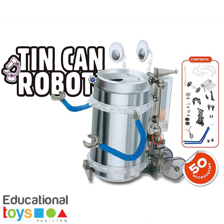 DIY Science Kit – Tin Can Robot
