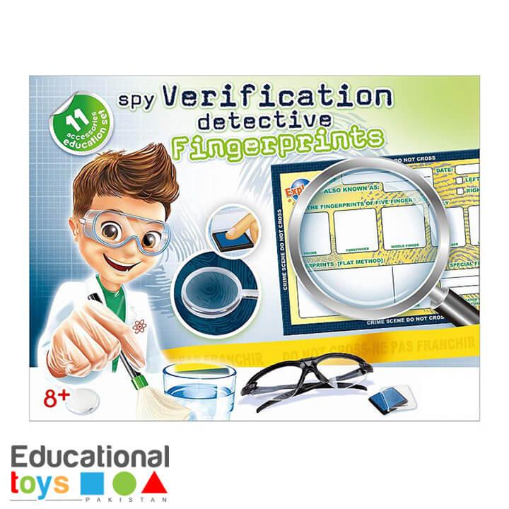 DIY Science Kit – Fingerprints Verification