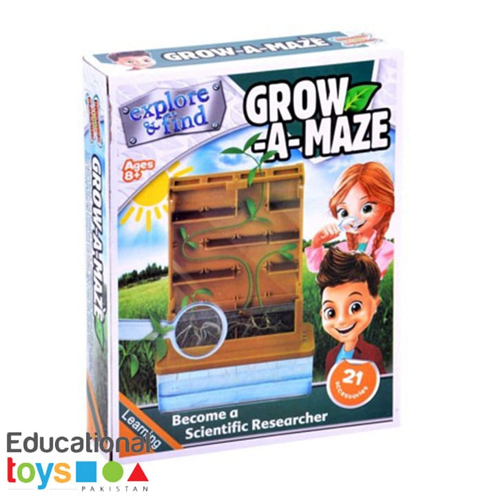 Explore & Find Grow-a-Maze