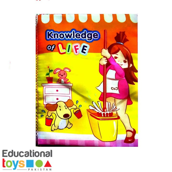 knowledge-of-life-cloth-book