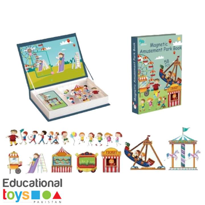 Magnetic Puzzle Book – Amusement Park