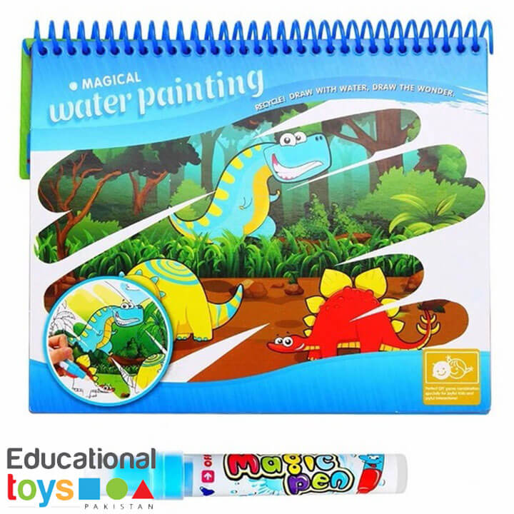 Magic Water Painting (Aqua Doodle book) – Dinosaur World
