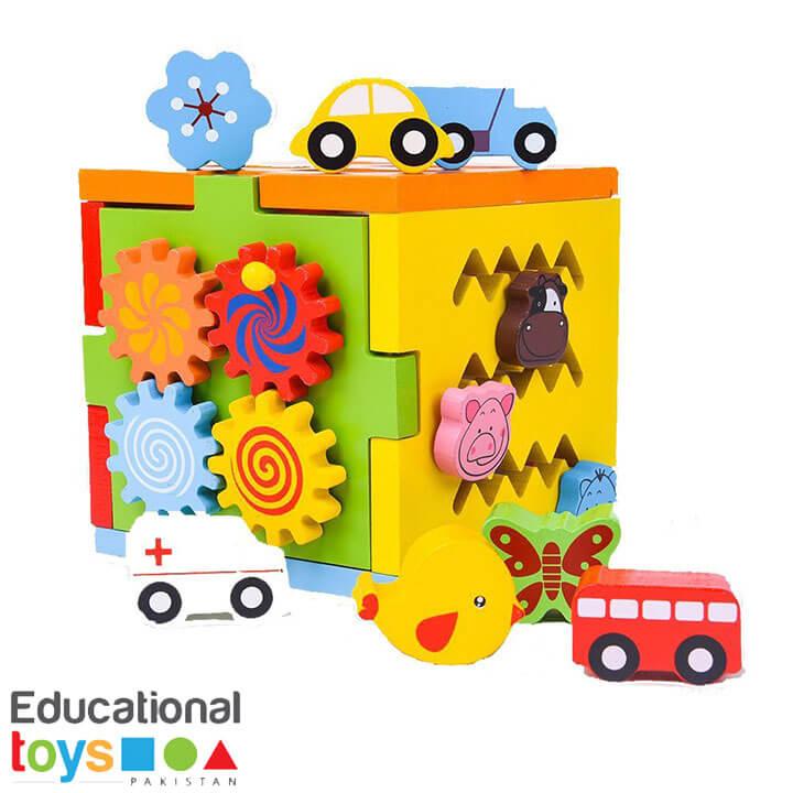Multifunctional Intelligence Box (Wooden)