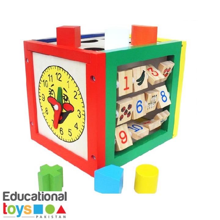 Multifunctional Puzzle Box