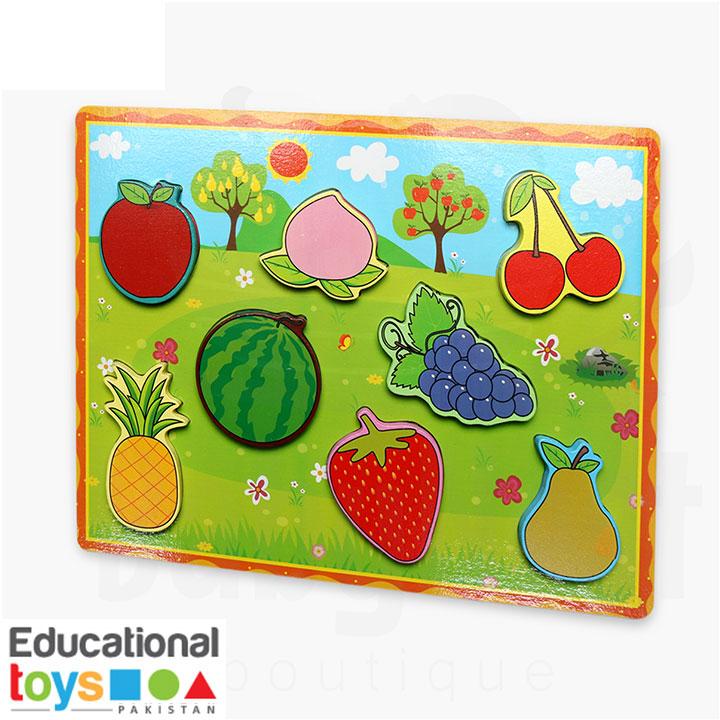 Chunky Fruit Puzzle