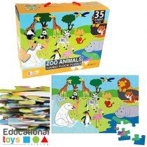 Zoo Animal Jumbo Puzzle
