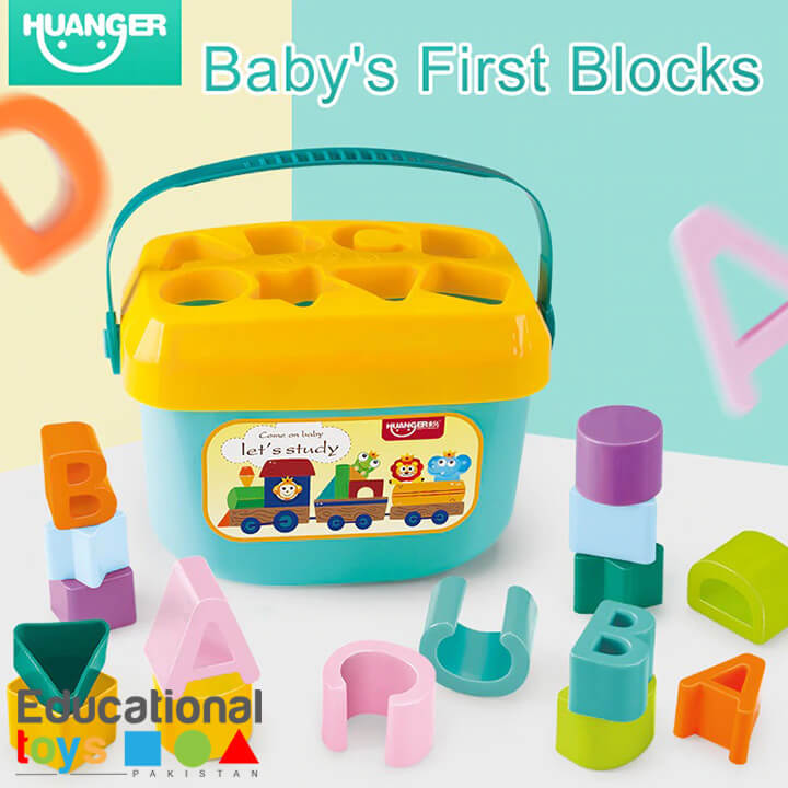Huanger Baby's First Blocks – Shape Sorter