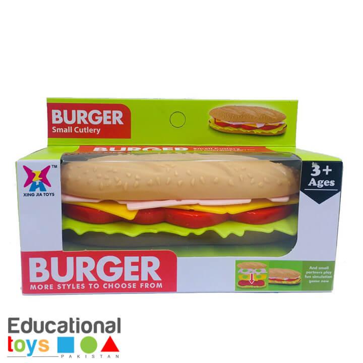 Make Your Own Burger – Pretend Play Box