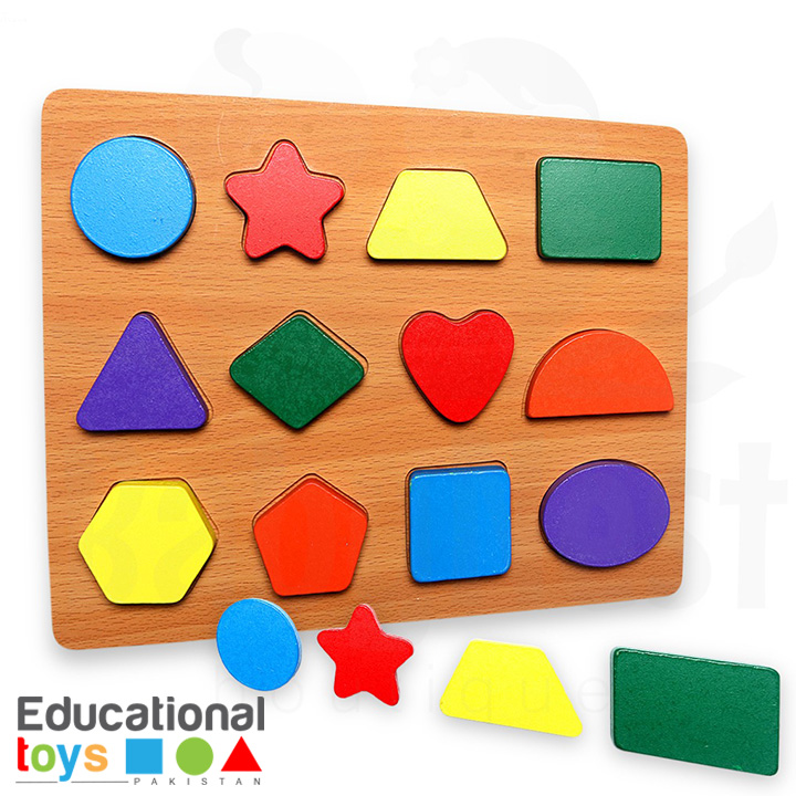 Chunky Shapes Wooden Puzzle
