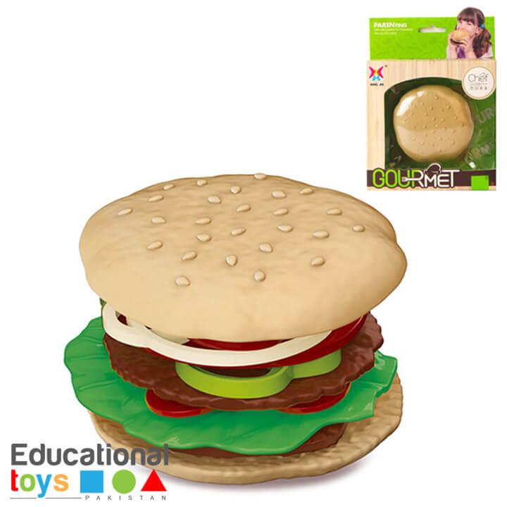Gourmet Burger Set for Pretend Play