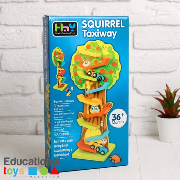 squirrel-taxiway-wooden-race-track-1