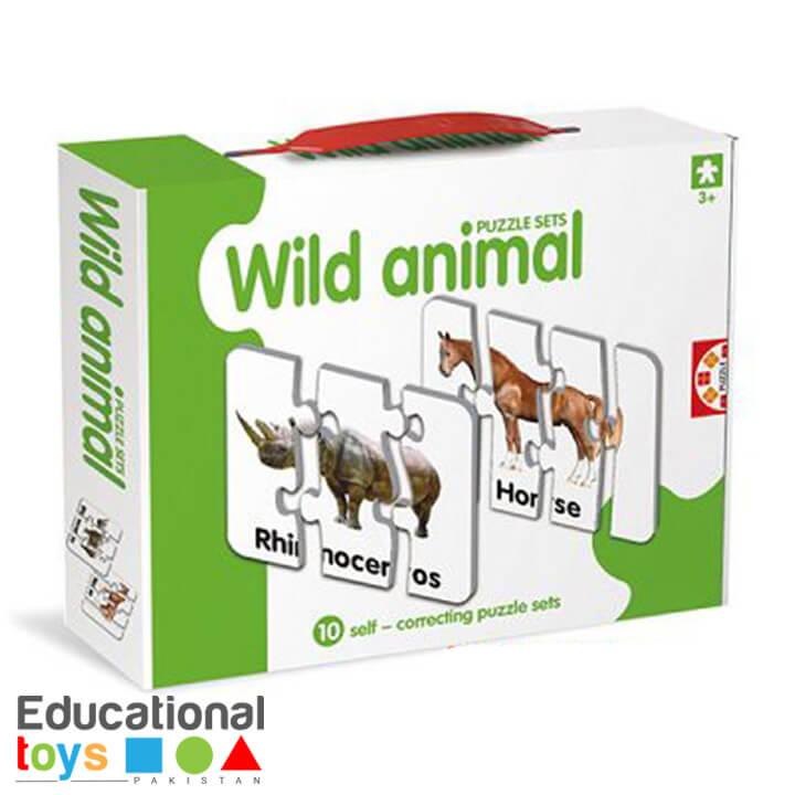 Wild Animal Match-it Puzzle