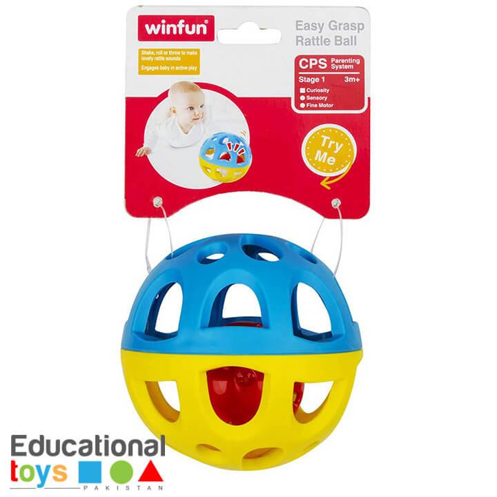 WinFun – Easy Grasp Rattle Ball