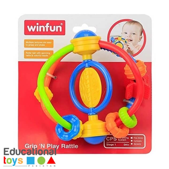 WinFun – Grip 'N Play Rattle
