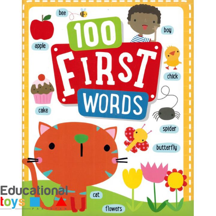 100 First Words (Padded Hard Cover)