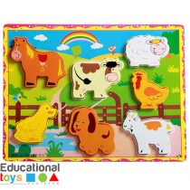 chunky-3d-domestic-animal-wooden-puzzle