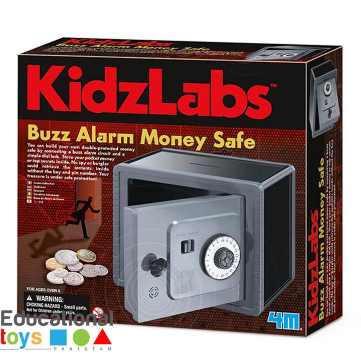 4M – Kidz Labs – Buzz Alarm Money Safe