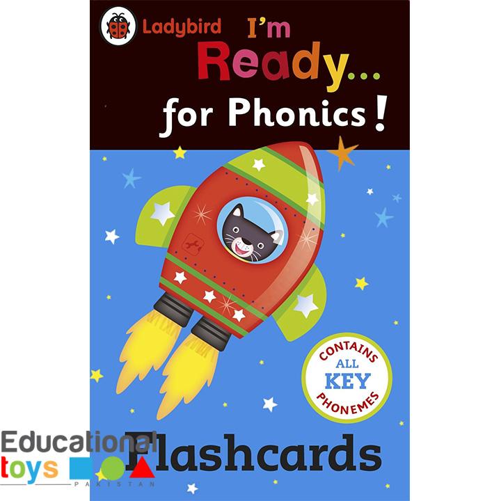 Ladybird I'm Ready for Phonics – Flash Cards