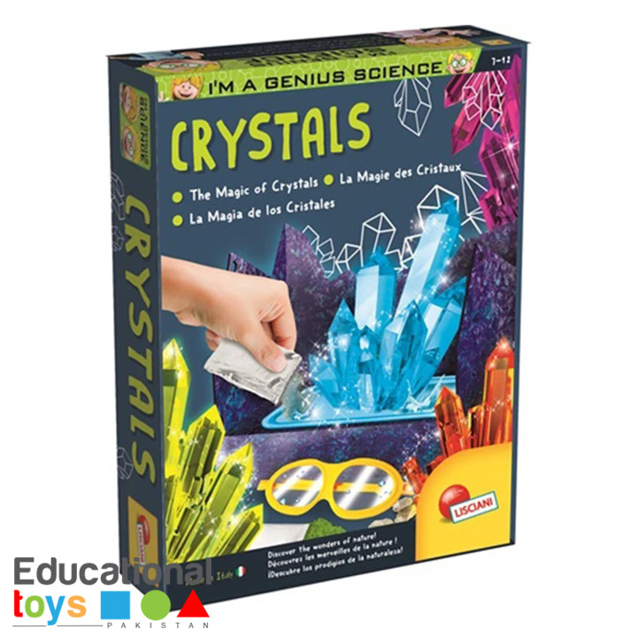 The Magic Of Crystals – Lisciani Science Kit