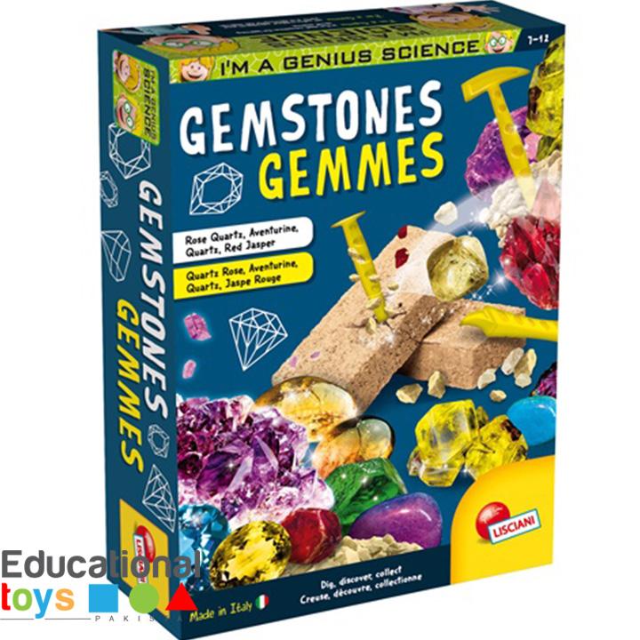 Gemstones – Lisciani Science Kit