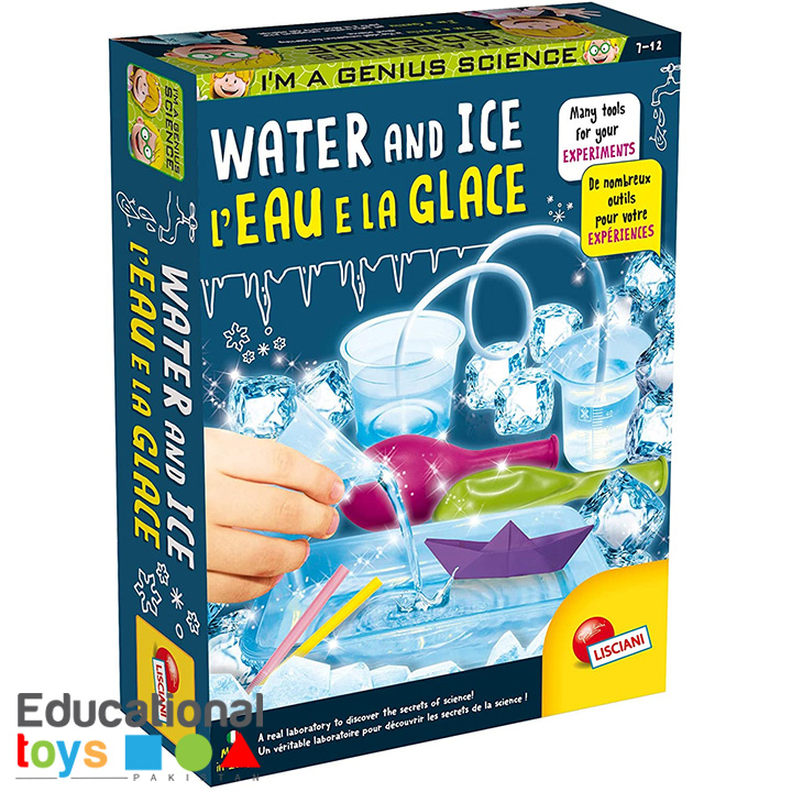 Water and Ice – Lisciani Science Kit