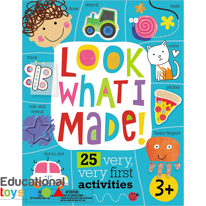 Look What I Made! Activity Book for Kids (3+ Years)