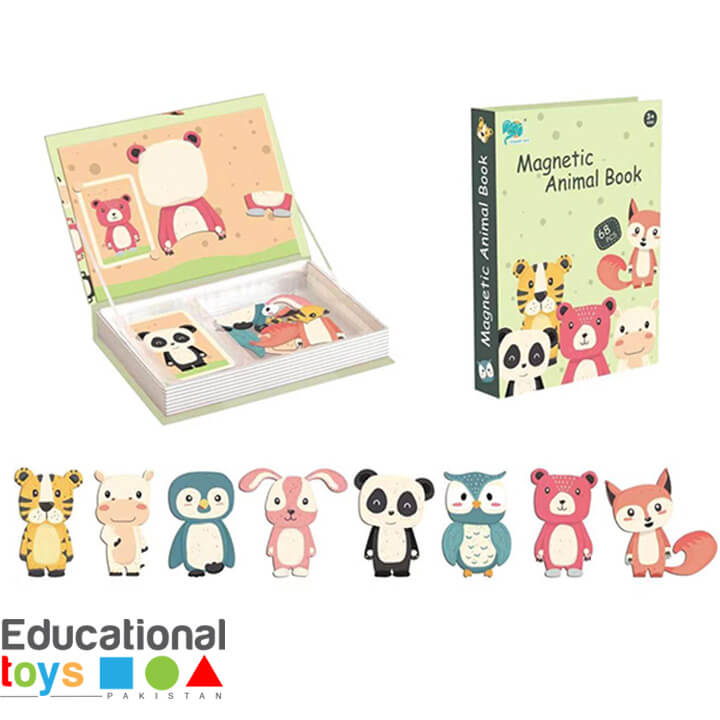 Animal Magnetic Puzzle Book