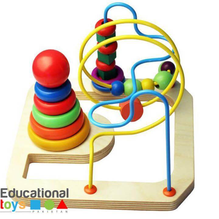 multifunctional-bead-maze-and-rainbow-tower-2