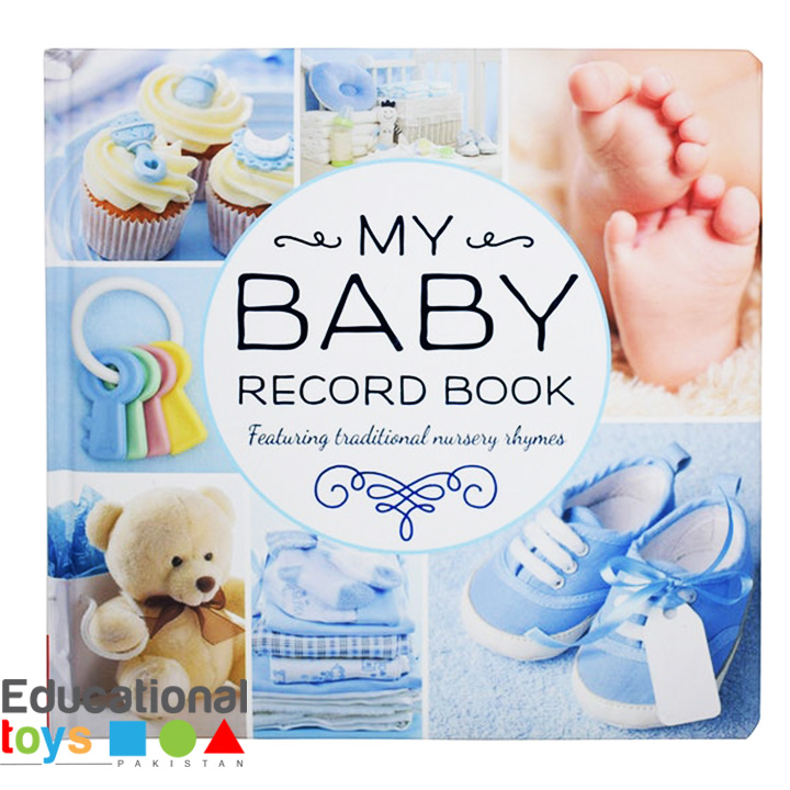 My Baby Record Book (Blue) – For Boys