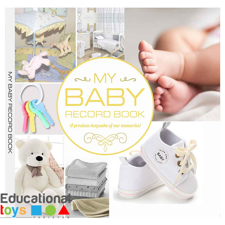 My Baby Record Book (Yellow) – Gender Neutral