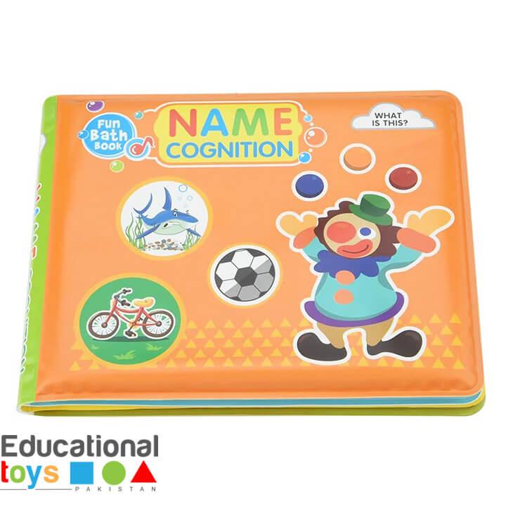 Name Cognition Bath Book for Infants