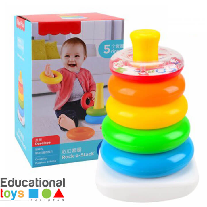 Rock – A – Stack – Ring Tower for Infants