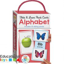 Slide & Learn Alphabet Flash Cards