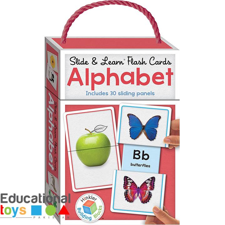Building Blocks Slide & Learn Flash Cards Alphabet