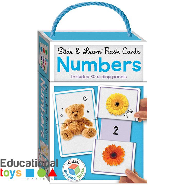 Building Blocks Slide & Learn Flash Cards Numbers