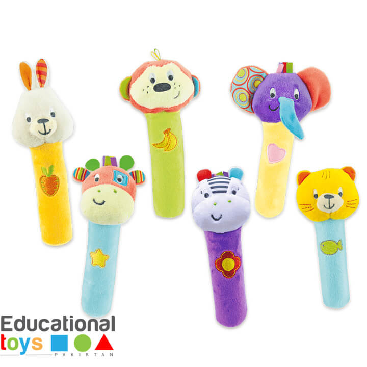 Winfun Grip N' Play Rattle Stick (Any One)