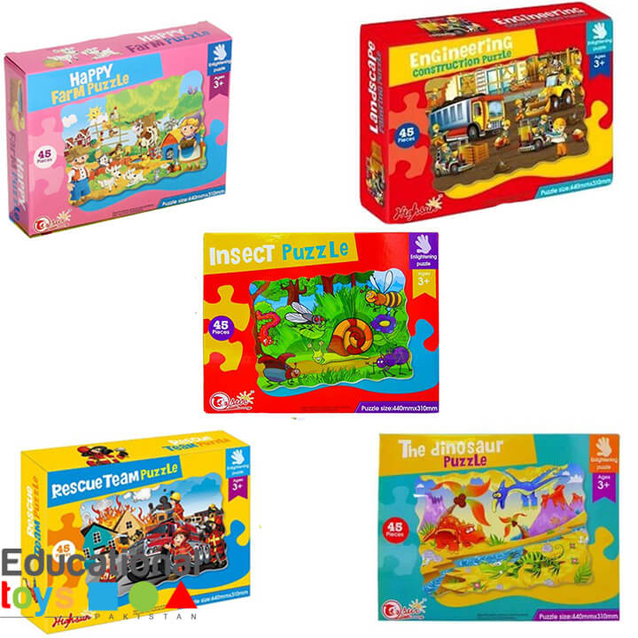 Jigsaw Puzzle for Preschoolers – 45 Piece