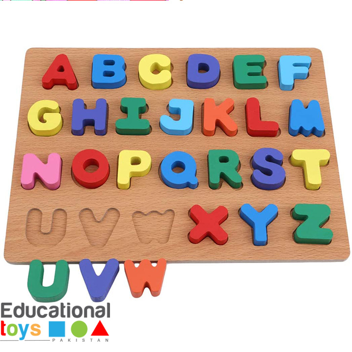 Chunky Capital ABC Wooden Puzzle