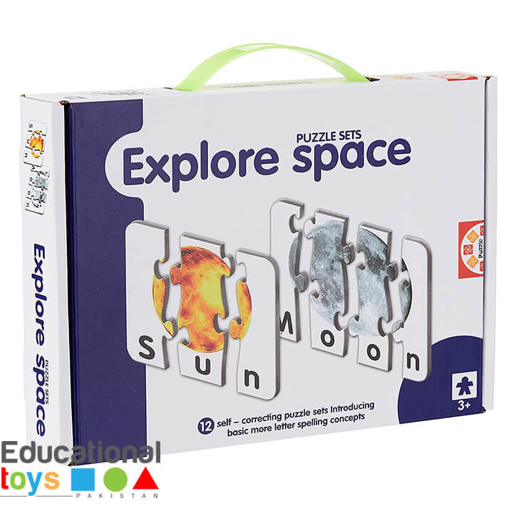 Explore Space Match-it Puzzle