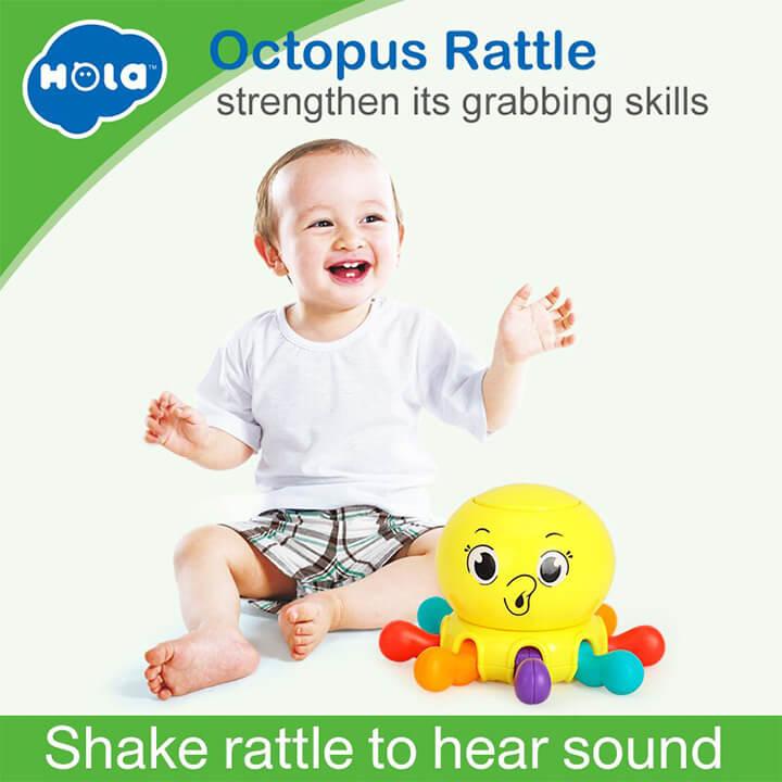 Hola Octopus Rattle