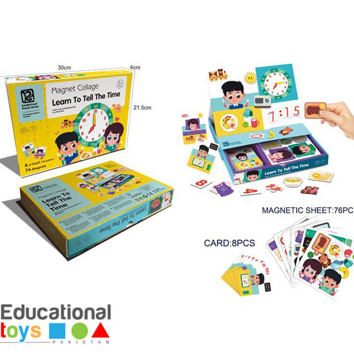 Learn To Tell The Time – Magnetic Kit