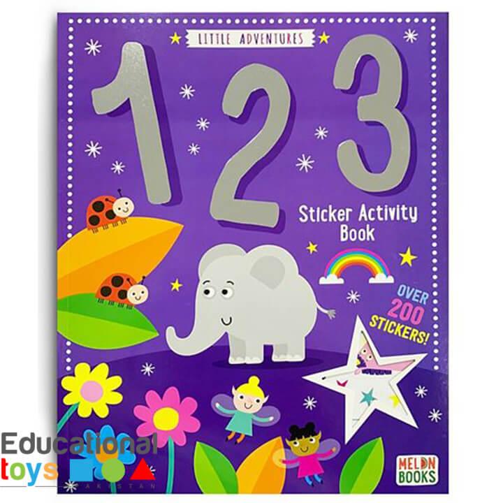 Little Adventure 123 Sticker Activity Book