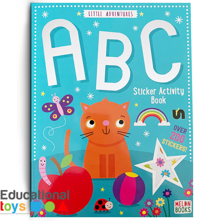 Little Adventure ABC Sticker Activity Book