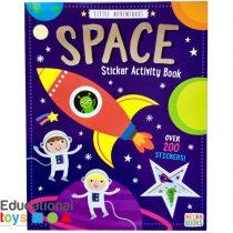 Little Adventures Space Sticker Activity Book
